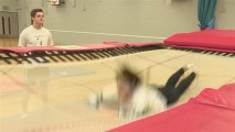 Step By Step Guide To The Front Drop In Trampolining
