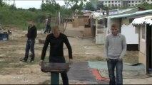 Roms : Expulsés de Ris-Orangis, ils s'installent à Grigny