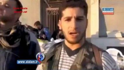 كشف هوية الارهابي الذي اكل قلب الجندي السوري وانتمائه للجيش الحر