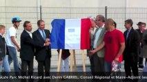 Inauguration du Skate Parc Michel Ricard à Rueil-Malmaison avec Denis GABRIEL Conseiller Régional et Maire-Adjoint de Rueil-Malmaison