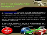 Guaranteed Auto Loans For Bad Credit With Instant Approval - Apply Today
