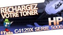 Comment bien recharger une cartouche laser HP  HP C4129X
