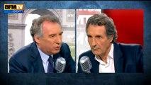 François Bayrou, invité de Bourdin Direct sur BFMTV - 150513
