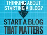 """"""" How To Start A Blog That Matters - 75% Commissions, Incredible Product (view mobile)  