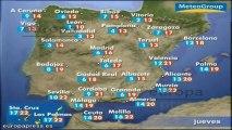 Previsión del tiempo para este jueves 16 de mayo