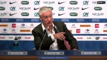Replay : Conférence de presse de Didier Deschamps