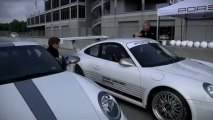 Porsche 911 (997) GT3 RS 4.0 L. Patrick Long aux commandes