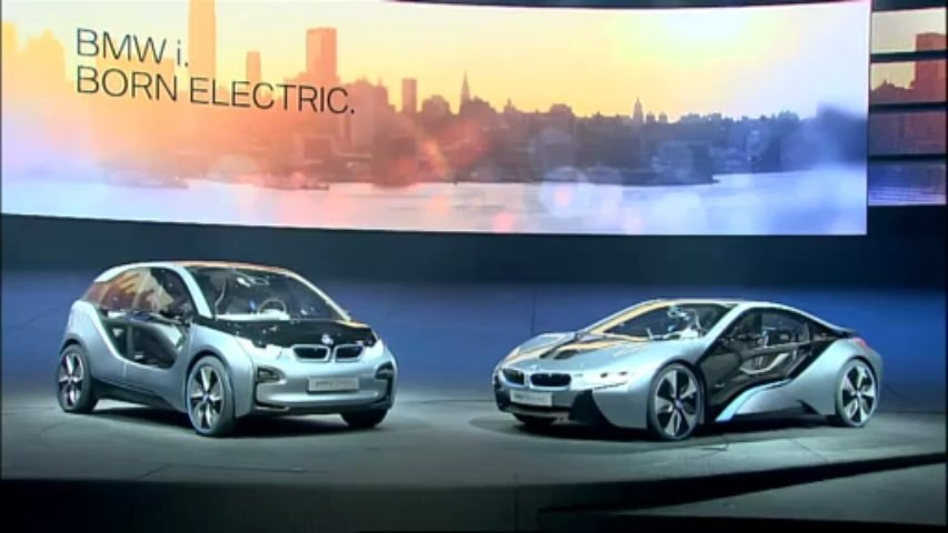 BMW i3 Concept et BMW i8 Concept
