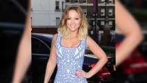 Kimberley Walsh Shows Off Her Summer Body at Hello Party