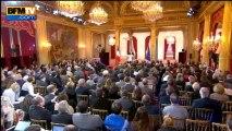 """François Hollande: François Hollande veut """"réduire de moitié la propension d'élèves qui sortent sans qualification"""" – 16/05"""