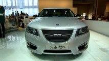Saab 9-5 en direct du Mondial de Paris 2010
