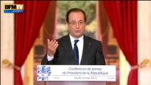 """François Hollande sur le vote des étrangers: """"Le texte sera soumis au Parlement après les municipales"""" - 16/05"""