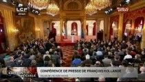EVENEMENT, Conférence de presse de François Hollande du 16 mai 2013