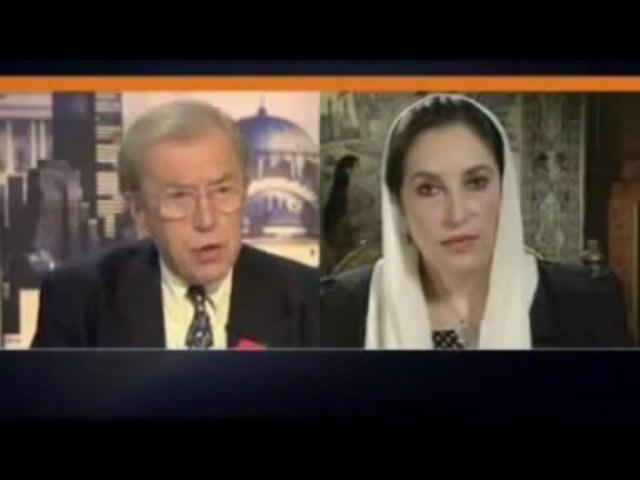 Osama Bin Laden Dead Since 2001 -- In David Frost interview (2007) Bhutto Says Osama Bin Laden murdered.