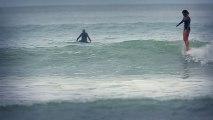 Du surf, l'Océan, la plage et ... des filles sublimes.. La vidéo parfaite!