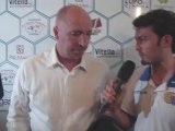 Conferenza stampa dopo la gara amichevole Akragas vs Catania Calcio  con l'allenatore  Rolando Maran