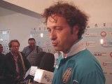 Conferenza stampa con Mr. Pino Rigoli dopo l'amichevole con il Catania Calcio