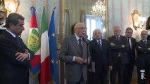 Roma - Napolitano con una rappresentanza di allievi della Polizia di Stato (16.05.13)