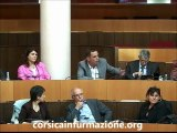 Langue #corse - Vidéo Intervention de Gilles Simeoni de Femu A Corsica à l'Assemblée de Corse