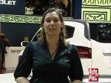 Chevrolet Concept Orlando au mondial de Paris 2008