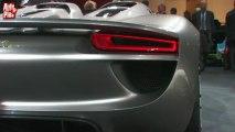 Porsche 918 Spyder - En direct du salon de Genève 2010