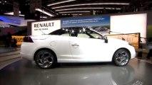 Renault Mégane CC - En direct du salon de Genève 2010