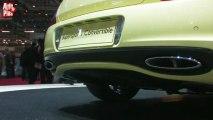Bentley Continental Supersports Cabriolet - En direct du salon de Genève 2010