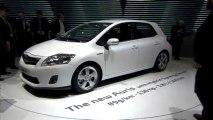 Toyota Auris HSD - En direct du salon de Genève 2010