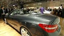 Mercedes Classe E Cabriolet - en direct du salon de Genève 2010