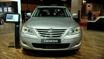 Hyundai Genesis en direct du Mondial de Paris 2010