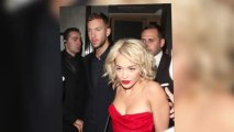 Rita Ora Sizzles in Red on Date Night With Calvin Harris