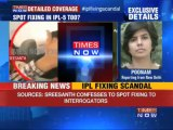 IPL Spot-Fixing: Sreesanth confesses to betting