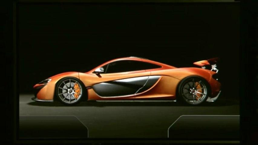 McLaren annonce la McLaren P1 de production