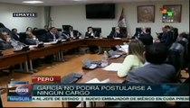 Perú: Alan García podría ser procesado por malversación de fondos