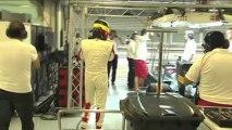Pirelli teste ses pneus pluie de nuit