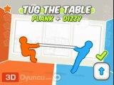 3D Masa Çekme - 3D 2 Kişilik Oyunlar
