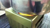 LOGOS製コンロ /  LOGOS made pocket tablet stove set