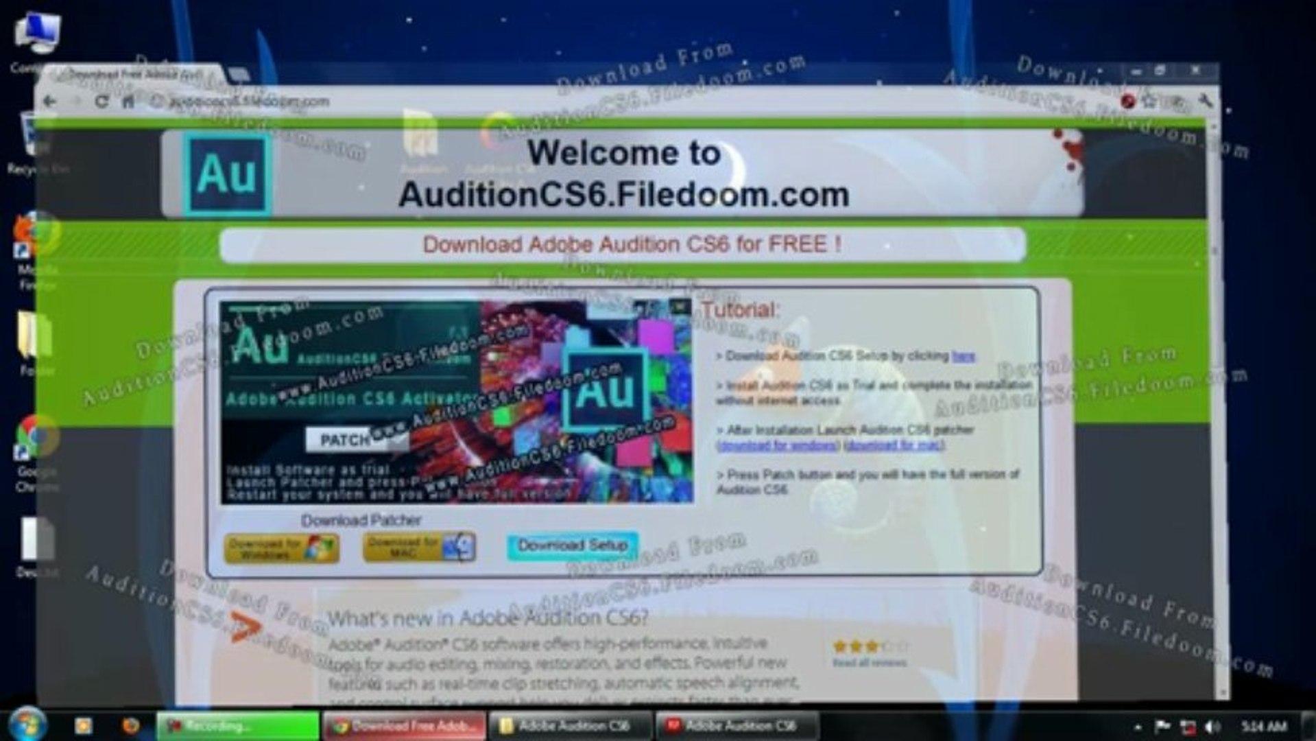 Adobe Audition CS6 Tutorials