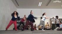 Extraits chorégraphiques 14/04/2013   Entre danse urbaine et danse contemporaine   Projet Passerelles avec Farid Berki