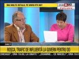 Sorin Roșca Stănescu a plecat din emisiunea lui Ciutacu