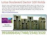 Lotus Boulevard,Lotus Boulevard Noida, 9910003520 ,3c Lotus Boulevard,3c Lotus Boulevard Noida