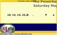 Powerball Lottery Drawing Results for May 18, 2013