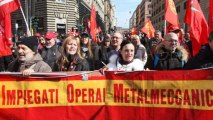 Italian protesters hold anti-austerity protest in Rome