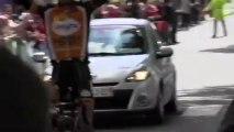 Arrivée 4è étape (Ronde de l'Isard 2013)