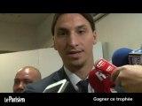 Zlatan, meilleur joueur de L1 : « Gagner ce trophée, c'est comme gagner le jackpot »