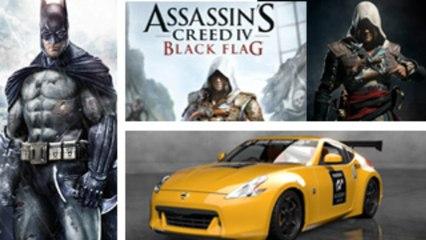 Gran Turismo 6, Batman: Arkham Origins and Assassin's Creed 4: Black Flag - Press A To Start Latest Gaming News