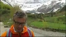 Dans les Pyrénées, le col du Tourmalet sous 6 mètres de neige