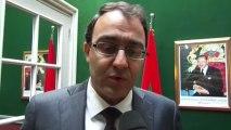 M.  Karim Ghellab... reçoit et s'entretient avec une délégation libyenne dirigée par le premier vice-président du Congrès national général.