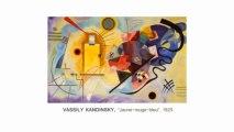 Vassily Kandinsky, Jaune-rouge-bleu (1925) : présentation en LSF (langue des signes française)
