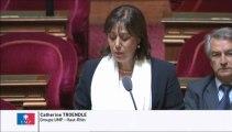 Catherine Troendlé, Sénateur du Haut-Rhin : Fermeture de la section professionnelle au lycée de Masevaux